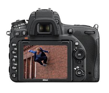 Nikon D750 tył