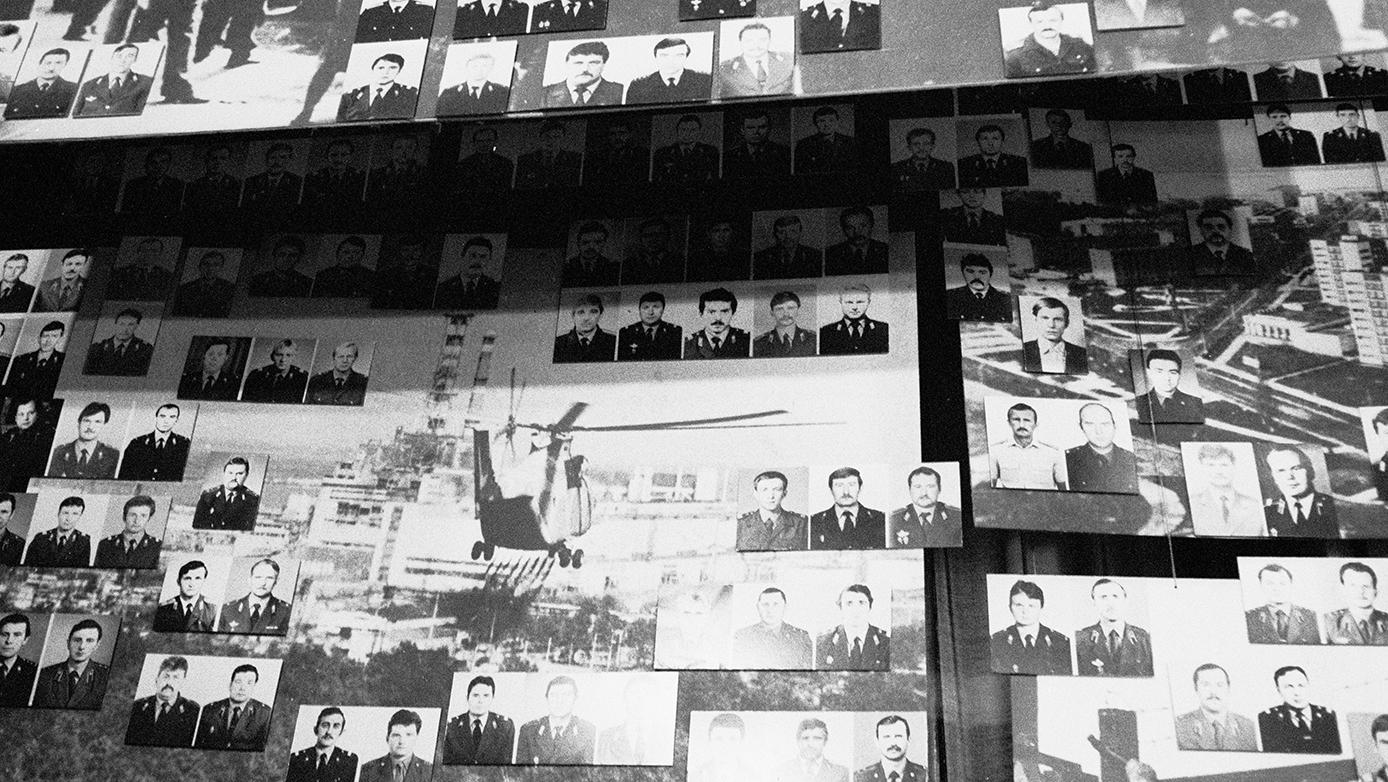 zdjęcia z Muzeum w Czarnobylu